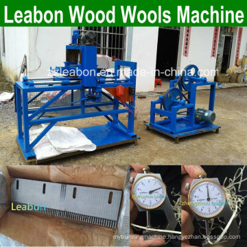 Long and Slight Wood Lace Wooden Wools Making Machine