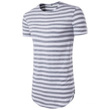 New Design Man′s Strip T Shirt, Short Sleeve Casual Clothing
