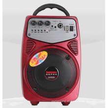 Altavoz activo mini de múltiples colores con Bluetooth, radio FM, control remoto Q2