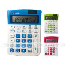10 Digits Dual Power Calculadora de escritorio de impuestos japonés / inglés (LC213T-JP)