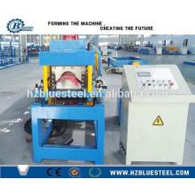 Verzinkte Dachrutschen-Blechmaschine / Metalldachkappen-Gutter-Rollenformmaschine