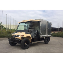 Electric Logistic Car Cargo Box Container Vehicle, Cargo Pickup Car