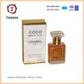 Caja de regalo de lujo de diseño para envases blandos de perfume