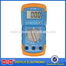 Multímetro digital DT718L con temperatura Backligt Battery Tester