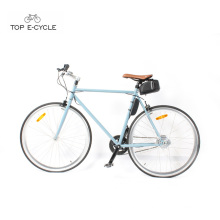 New product city racing bicycle single speed electric bicycle 2017