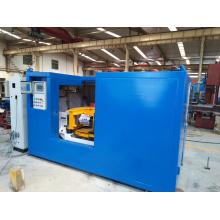 Línea de producción automática de fundición para limpieza de aluminio.
