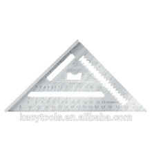 Travesaño triangular Pruebe regla cuadrada