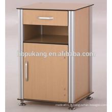 Cabinet de chevet phénolique pour hôpital