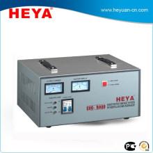Regulador de voltaje servo de cobre caliente estático caliente de la exhibición 220V de la venta 8KW de la venta 8KW