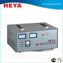 Affichage chaud 8KW analogique 220V Static full copper regulateur de tension d'asservissement AC