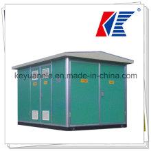 Subestación transformadora de caja