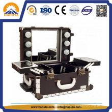 Фантастический чехол для макияжа со светодиодной подсветкой и зеркалом (HB-1016)