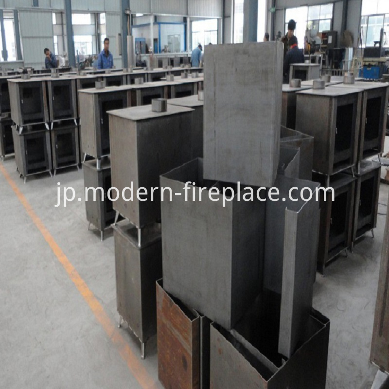 Efficient Production of Wood Burning Stove