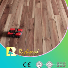 12.3mm E0 HDF AC4 en relieve suelo laminado de nogal