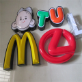 Customized Vacuum Pan Formed LED Sign Letters
