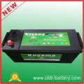 Peso da bateria do caminhão Mf 12V120ah Bateria do carro de partida, bateria de carro grátis para manutenção sem fio N120ah