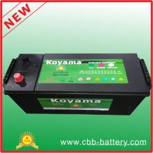 Mf Truck Battery 12V120ah Starter Batería De Coche, N120ah Sealed Mantenimiento De La Batería De Coche Gratis