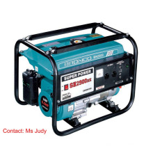 Bn2900e Gasoline Generator 2.2kw 168f Single Phase