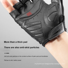 Colorful Reflective Half-Finger Gloves Bicycle Riding Gloves