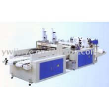 High Speed Automatic Two Lines Printing Vest Bag Making Machine