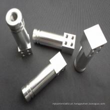 Peças fazendo à máquina do alumínio peças fazendo à máquina do serviço do cnc