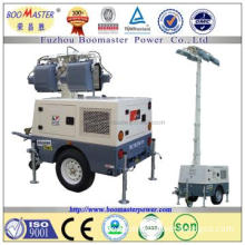Diesel engine generator Mobile light tower with EPA certificate