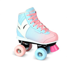 Soft Boot Quad Roller Skate for Kids (QS-39-1)
