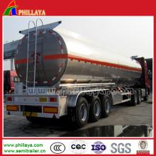3achs Wasser / Öl / Milch Aluminium Tankanhänger zum Verkauf