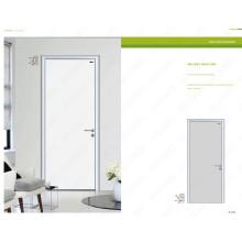 Populäre Aluminiumbadtüren, populäre Badezimmer-Tür, populärer Eintrag-Holztür-Entwurf