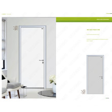 Portas de alumínio populares do banheiro, porta popular do banheiro, projeto de madeira da porta da entrada popular