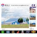Granja de pollo de Prefab / estructura de acero Prefab Casa de pollo de varias plantas / casa de pollo (JW-16251)