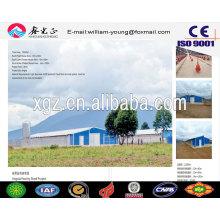 Prefab Chicken Farm / Steel Structure Prefab Multi-Floor Maison de volaille / Maison à poulet (JW-16251)
