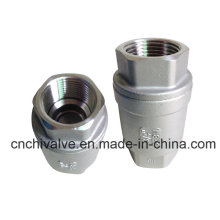 Vertical Spring Loaded Check Valve