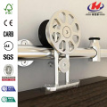 Spoke Wheel Rolling Door Hardware