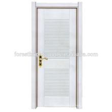 Porta nova de madeira da porta da melamina do MDF do projeto da porta do hotel do projeto