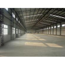 Structure d'entrepôt léger en acier préfabriqué de haute qualité