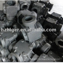 carcasa de la válvula de fundición de arena de aluminio fundido a presión