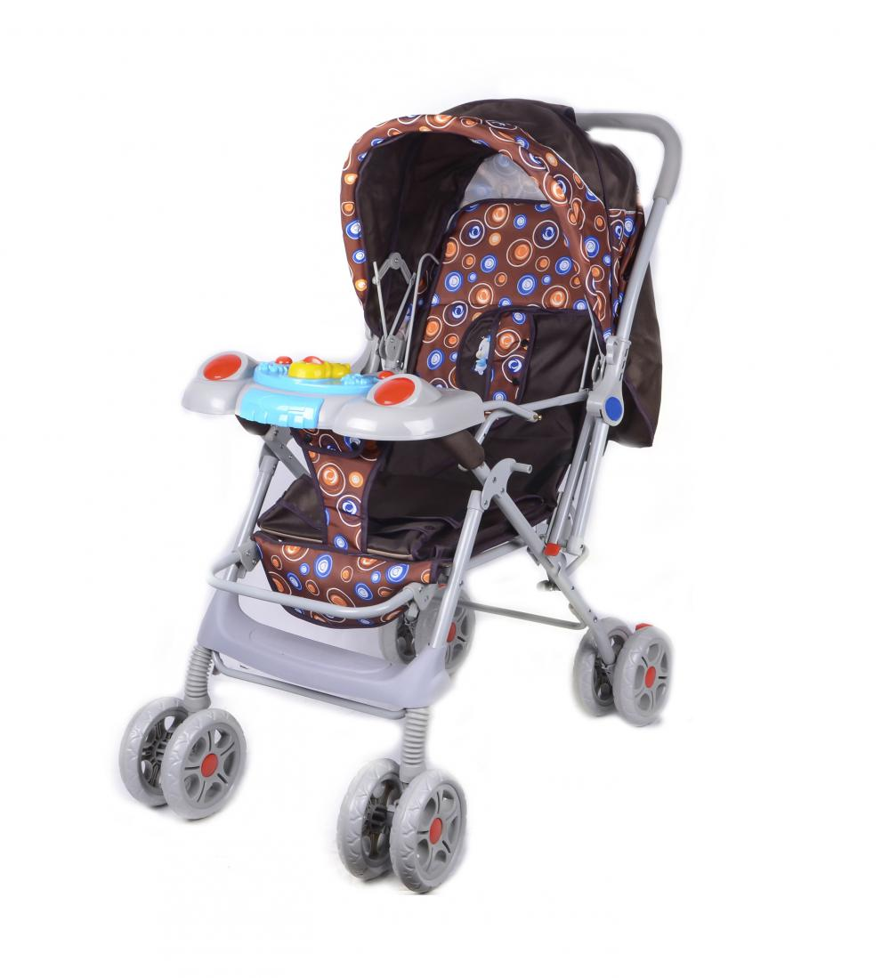 Whole Canopy with Skylight Baby Stroller