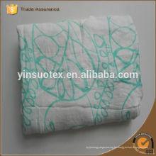 Cuadros 100% de la muselina del algodón de la alta calidad de las ventas calientes