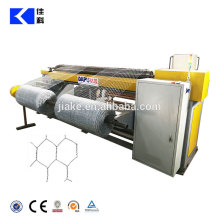 straight and reverse double twisted hexagonal wire mesh netting machine
