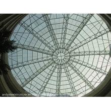 Techo de techo de cristal laminado templado