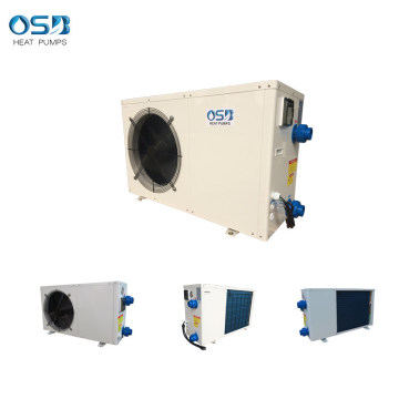 White metal Cabinet Swimming Pool Heat Pump