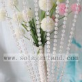 Iridescent Clear AB String Beads Roll Garland 82M/Roll