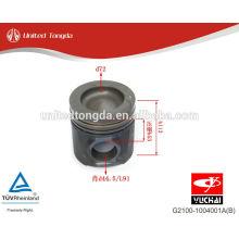 Pistão YC4G do motor de YuChai G2100-1004001A (B)
