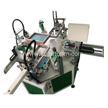 Automatic plain rotating screen printing machine