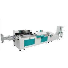 Automatic Textile Satin ribbon Label screen printer