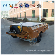 Heavy Duty Camper Trailer in Golden Color