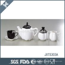 Atacado de boa qualidade abóbora forma café chá açúcar canister conjuntos