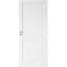 Estilo Taditioal de puerta y riel compuesto blanco