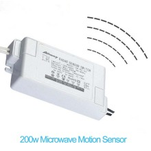 AC85-265V Microwave Motion Sensor For LED Lighting